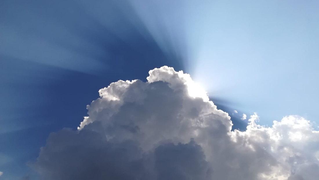 sky, cloud, sun