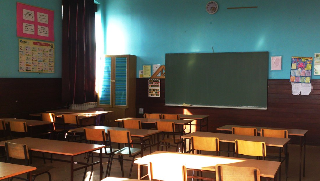 ucionica, skola, djaci, nastava, ucenici, raspust