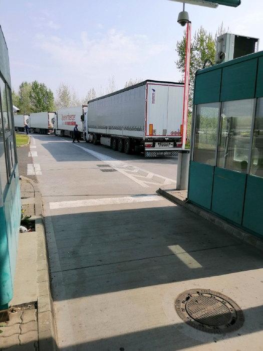 horgos, kamioni, saobracaj, granica, prelaz