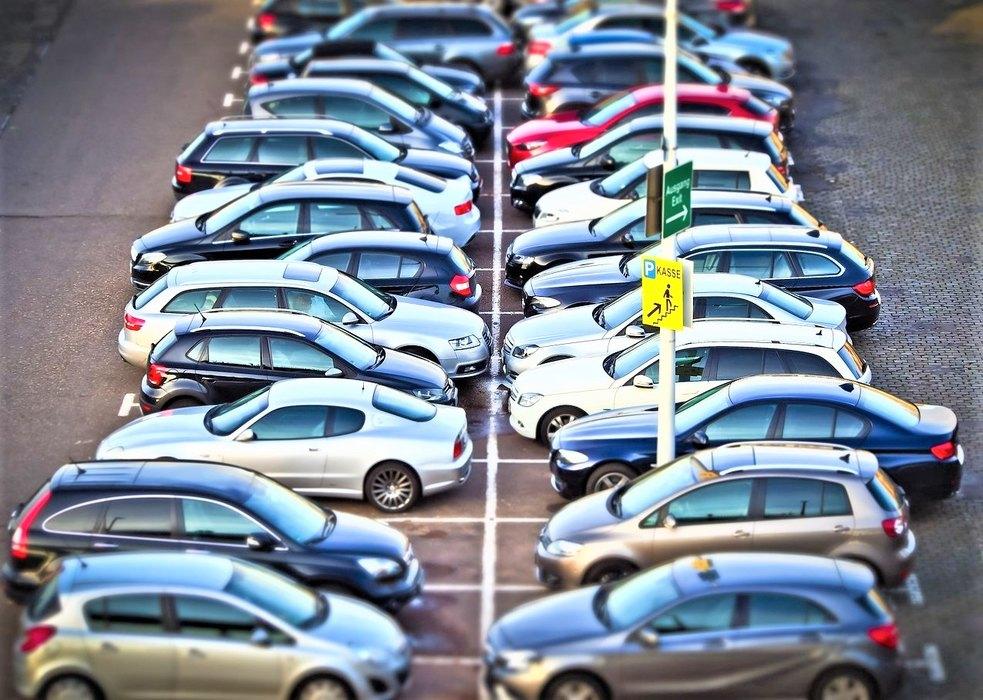 parking, automobili