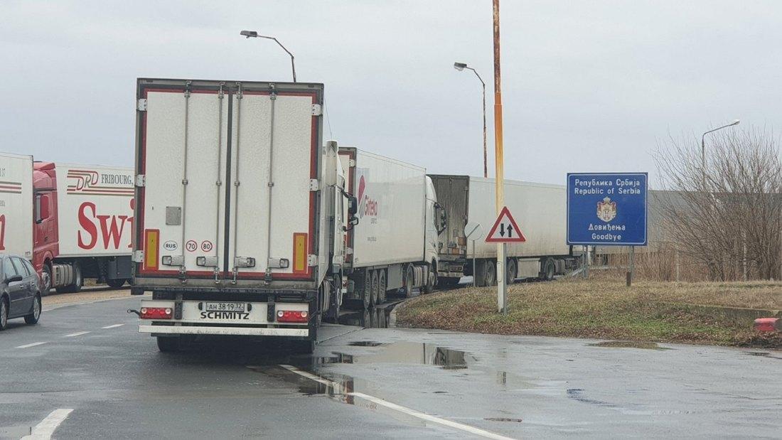 granica, carina, vatin, kamioni, teretnjaci, saobracaj, 2
