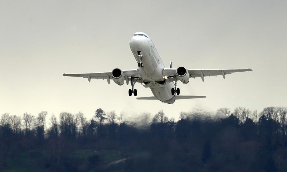 poletanje, let, avion, transport