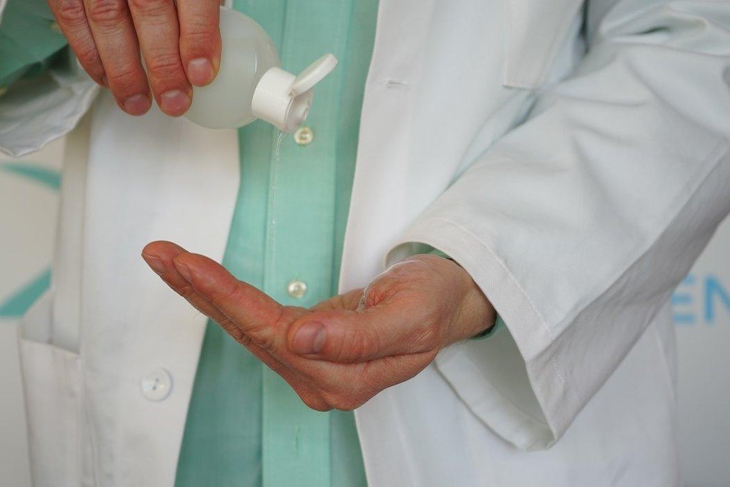 doktor, lekar, dezinfekcija, 13