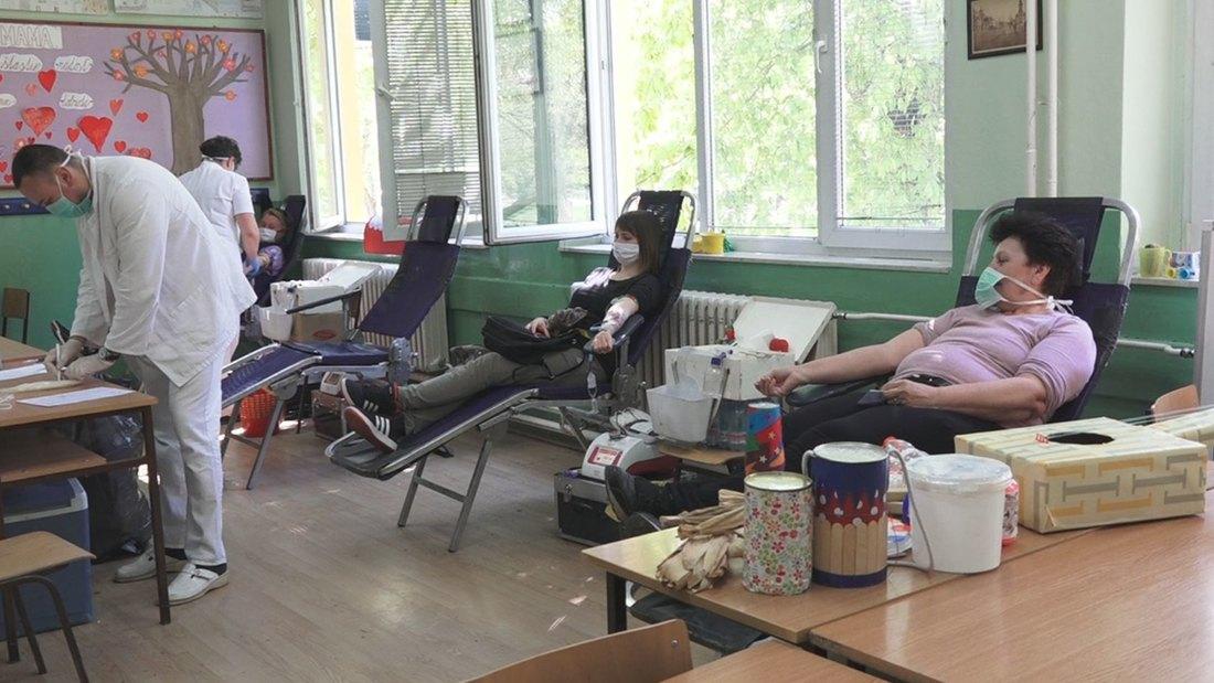 davanje, krvi, transfuzja