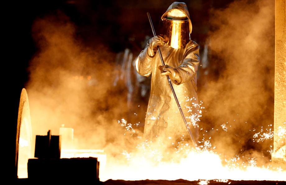 industrija, proizvodnja, fabrika, metala, gvozdja