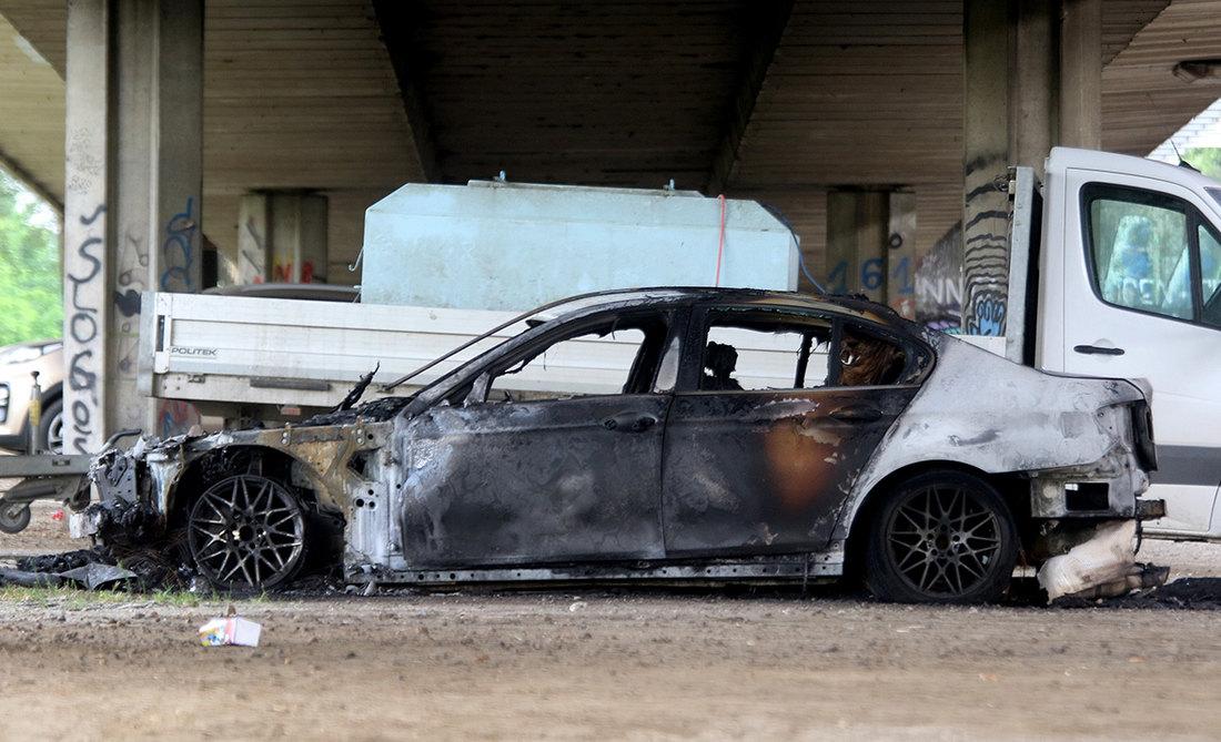 automobil,, eksplodirao