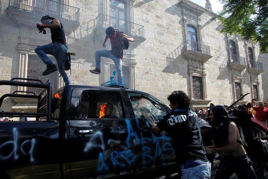 meksiko, protest