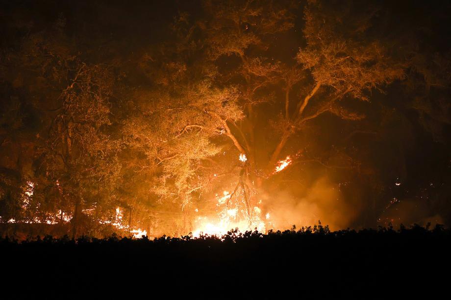 kalifornija, požari
