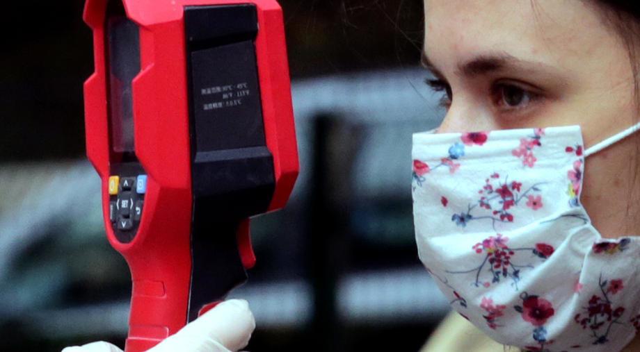 deca, maska, merenje, temperature