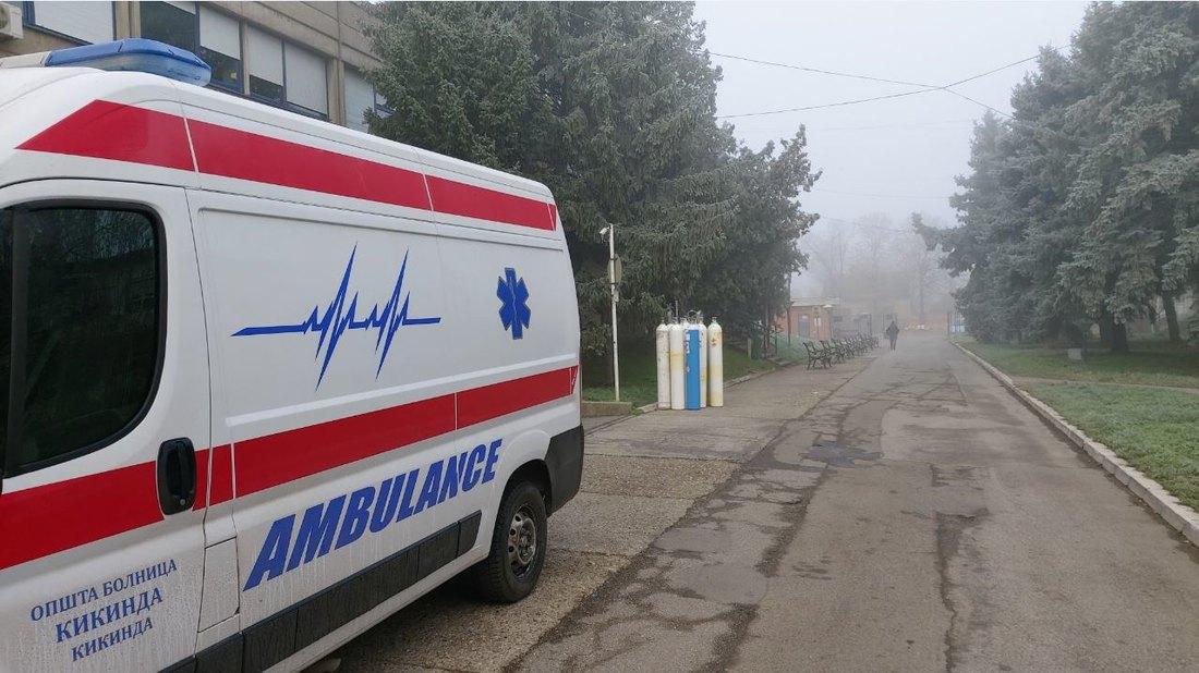 kikinda, ambulantna, kola, hitna, pomoc, bolnica