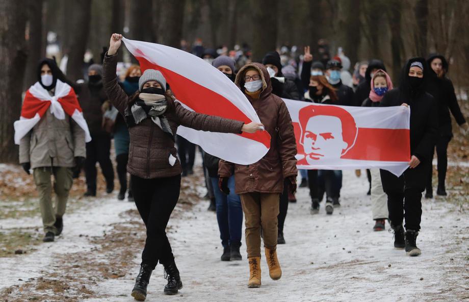 belorusija, minsk, protest