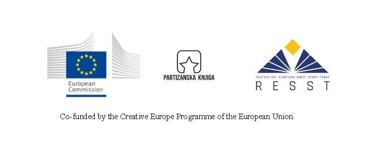 logo, partizanska, knjiga