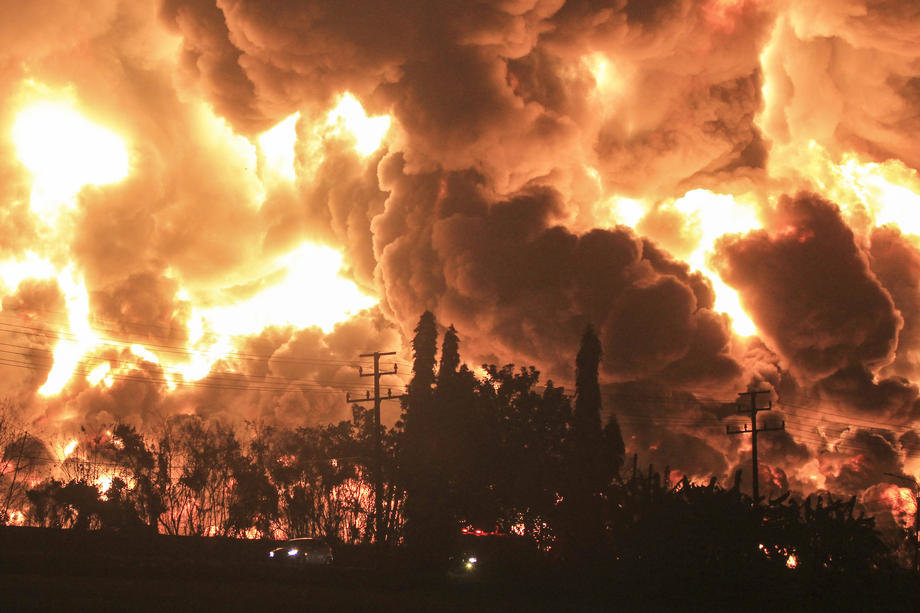 požar, indonezija