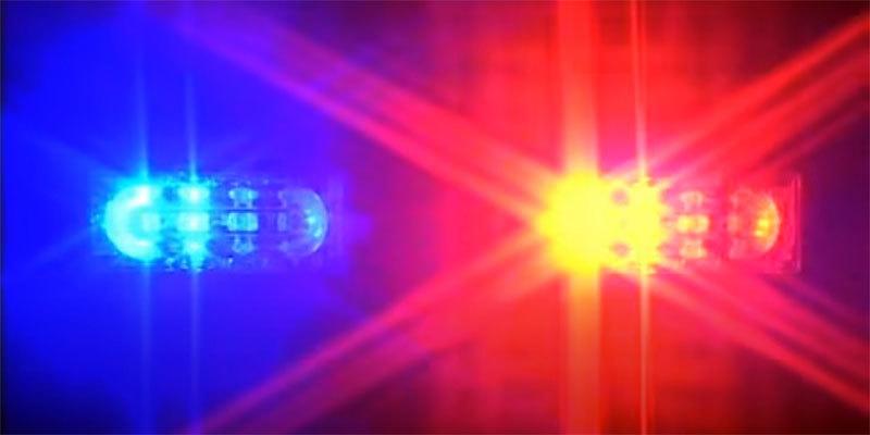 policija, blinkeri, rotacija
