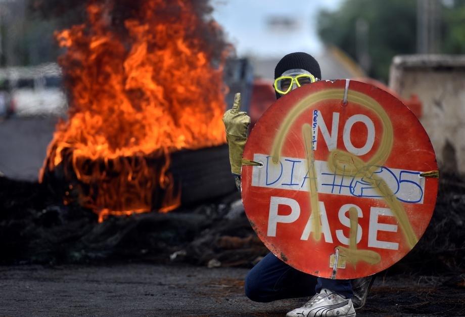 kolumbija, protest