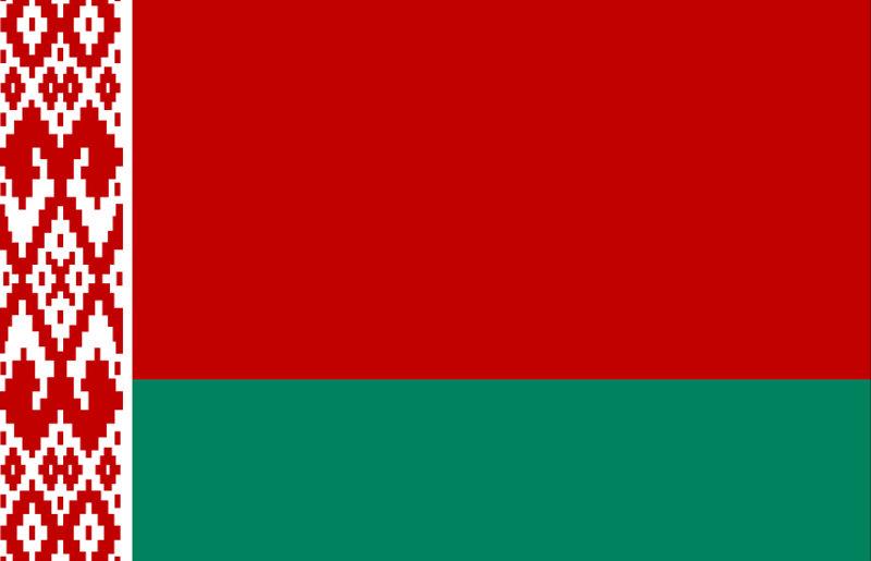 belorusija, zastava