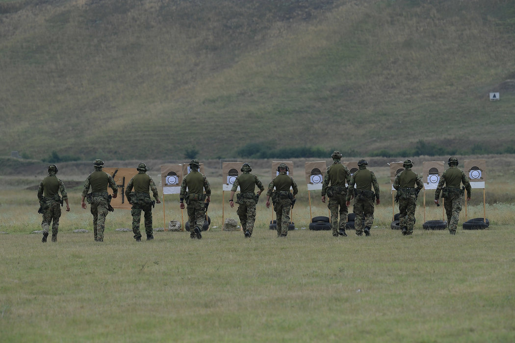 vojska, gadjanje